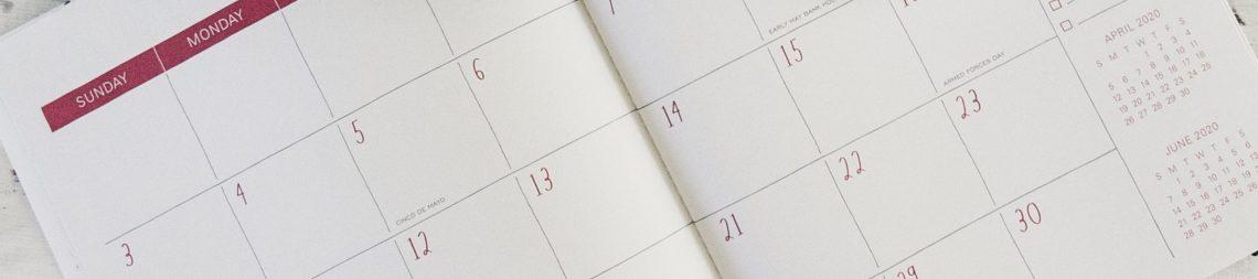 Calendario RRSS